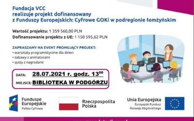 Cyfrowe GOKi w podregionie łomżyńskim
